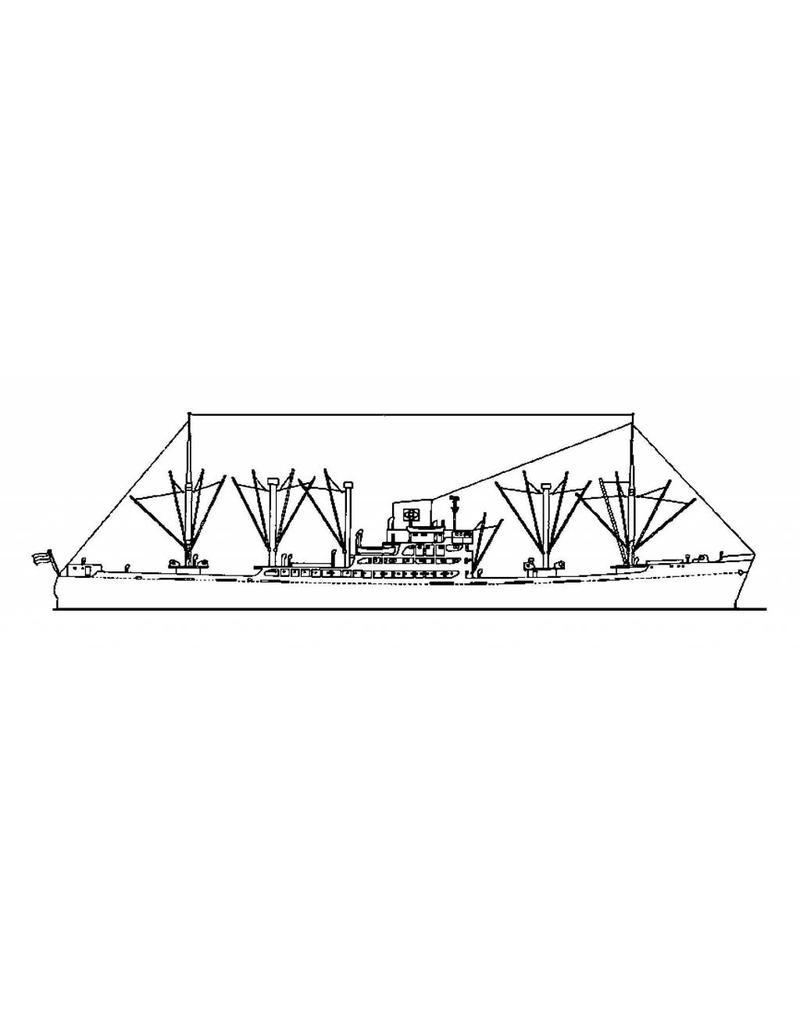 "NVM 10.20.045 vrachtschip ms ""Tjibantjet"" (1952) - KJCPL"