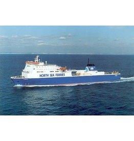 "NVM 16.10.064 ro-ro ferry ms ""Norbank"" (1992) - North Sea Ferries/ P&O NSF"