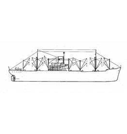 """NVM 16.10.061 vrachtschip ms """"Billiton"""" (1951) - SMN/Nedlloyd"""