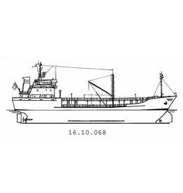"NVM 16.10.068 tanker ms ""Stella Castor"" (1980) - Rederij Theodora"