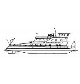 NVM 16.14.044 duwboot ms Mannesmann IV (1978) Mannesmann Rederij BV