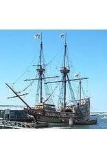 """NVM 10.00.006A koopvaarder """"Mayflower"""" (ca 1620)"""