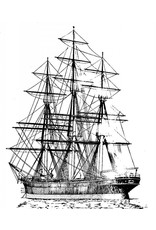 "NVM 10.00.007 Theeklipper ""Cutty Sark"" (1869)"