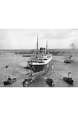 """NVM 10.10.004 passagiersschip ss """"Nieuw Amsterdam"""" (1938) - HAL"""