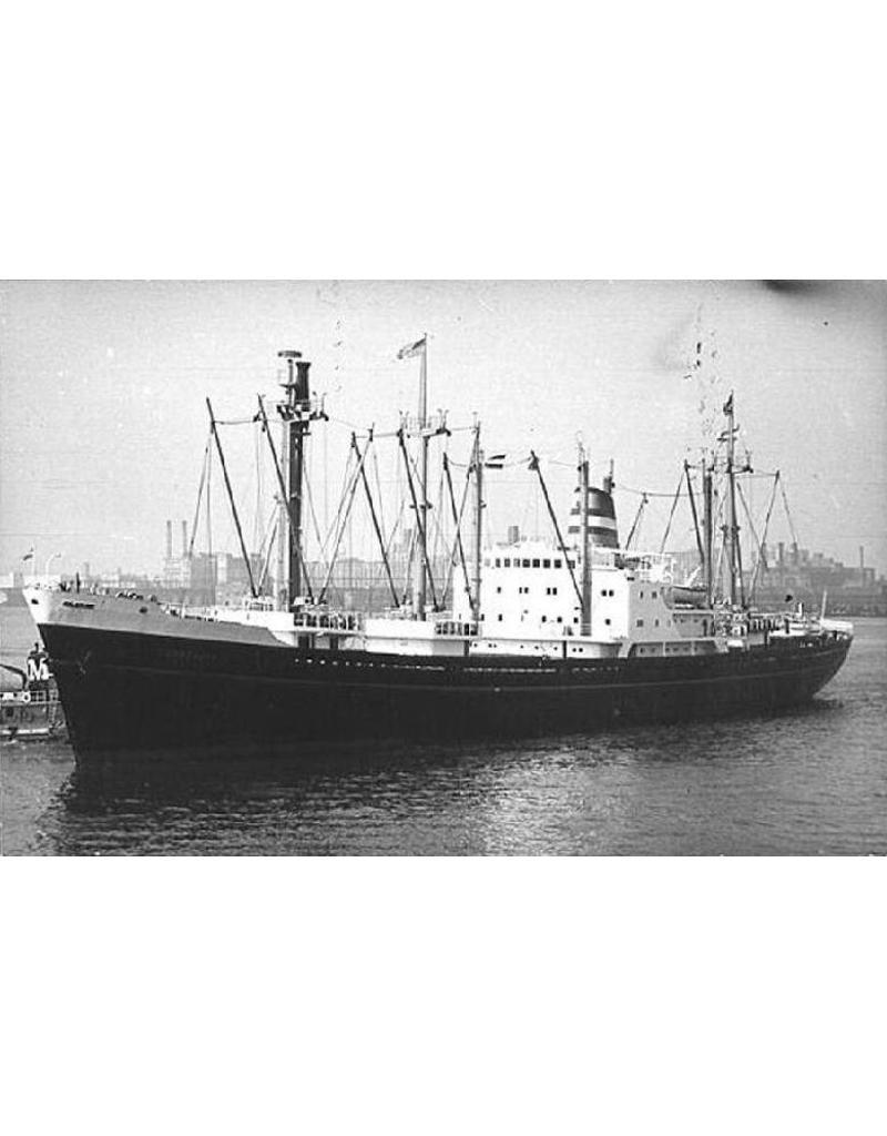 "NVM 10.10.078 vrachtschip ms ""Kinderdijk"" (1955) - HAL"