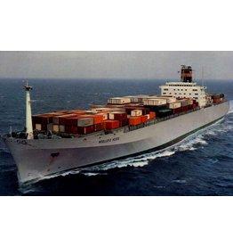 "NVM 10.10.114 containerschip ms ""Nedlloyd Houtman"" (1977) - Nedlloyd; ""NL Hoorn"""