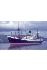 """NVM 10.10.126 vrachtschip ms """"Polydorus"""" (1952) - Ned. Stoomvaart Mij Oceaan"""
