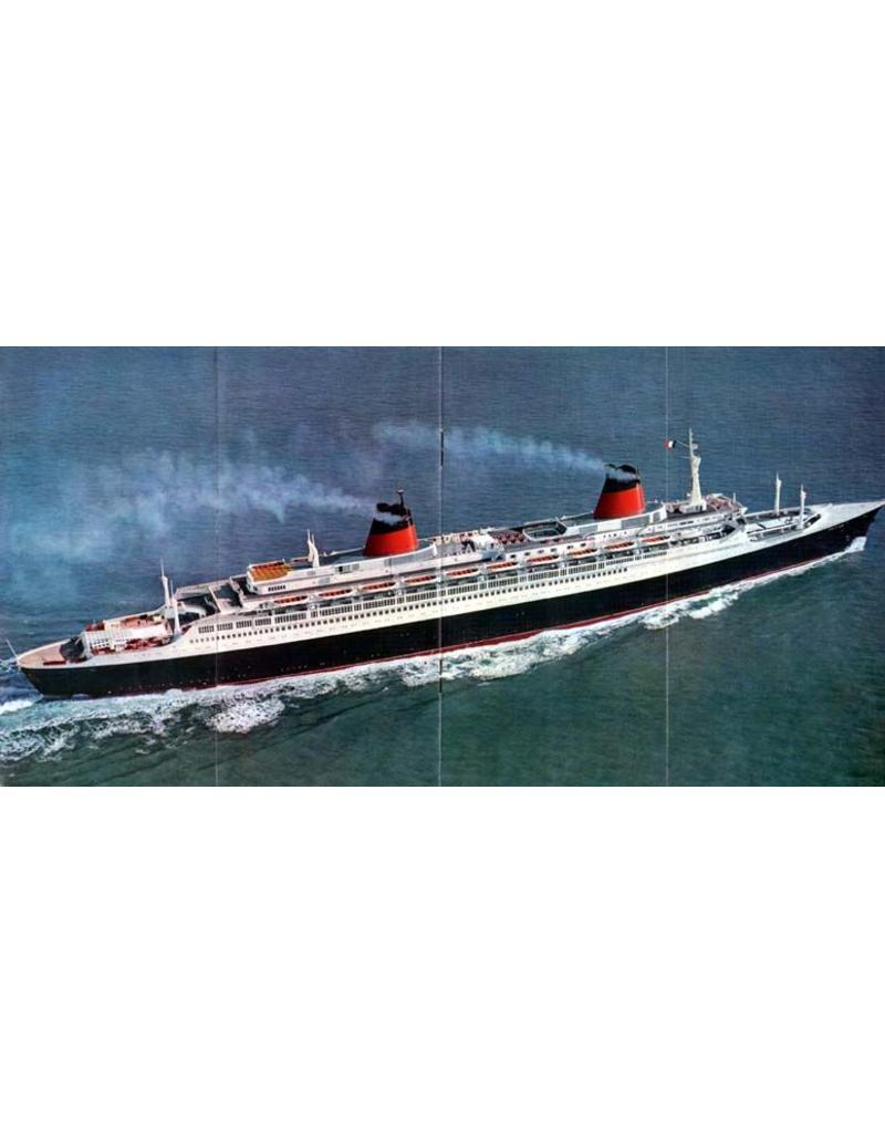 """NVM 10.10.136 pass.schip ss """"France"""" - Comp. Gen. Atlantique"""