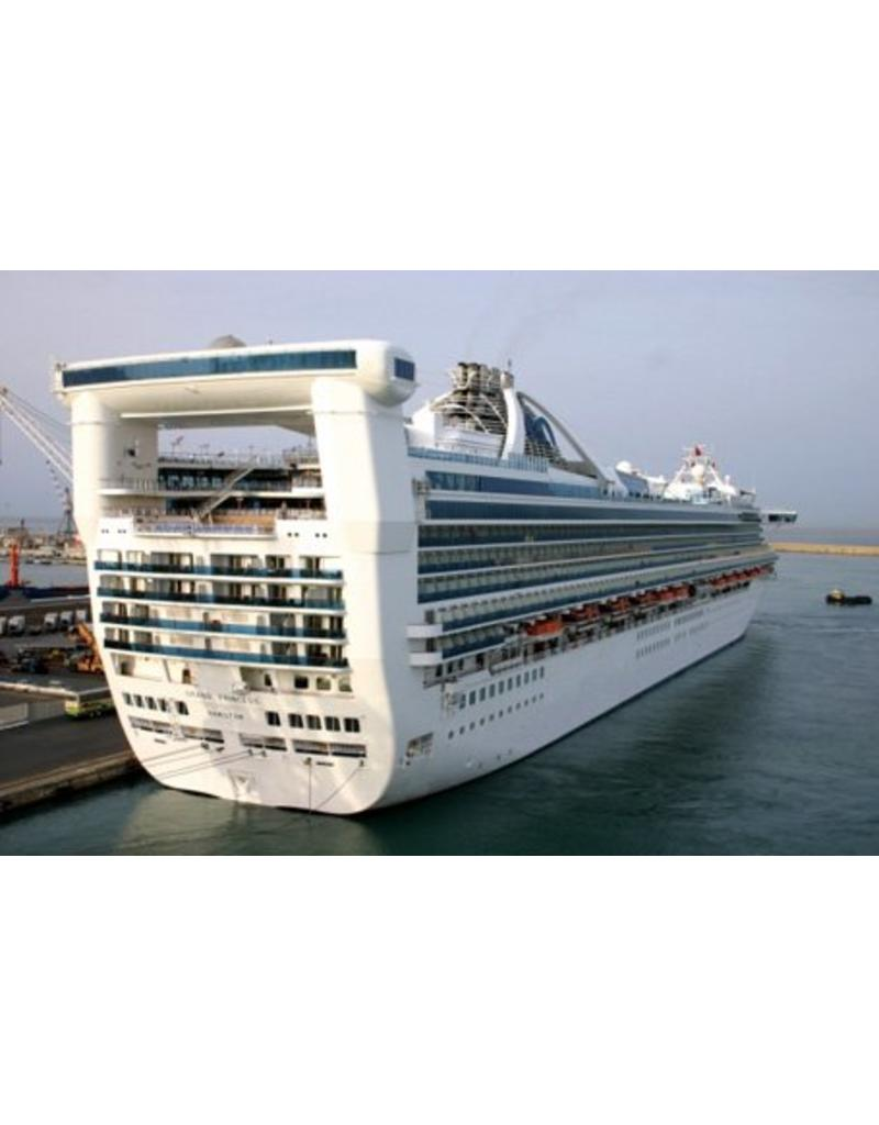 NVM 10.10.156 Cruise schip ms Grand Princess (1998)- Carnival plc; Princess Cruises