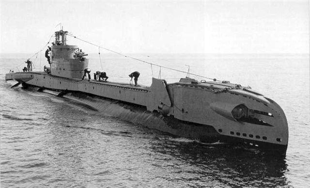 Nvm hrms onderzeeboot zwaardvis 1943 for Bureau zwaardvis
