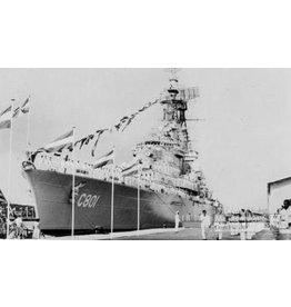 "NVM 10.11.007 HrMs kruiser"" De Ruyter"" (1953) (ex-""de Zeven Provinciën"" (1939))"