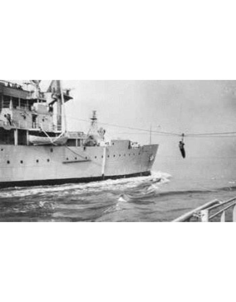 "NVM 10.11.007 HrMs kruiser"" De Ruyter"" (1953) (ex-""de Zeven ProvinciÌÇn"" (1939))"