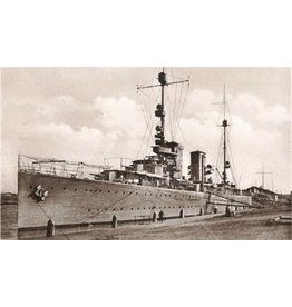 """NVM 10.11.049 HrMs kruisers """"Java"""" (1925), HrMs """"Sumatra"""" (1926) vóór verbouwing"""