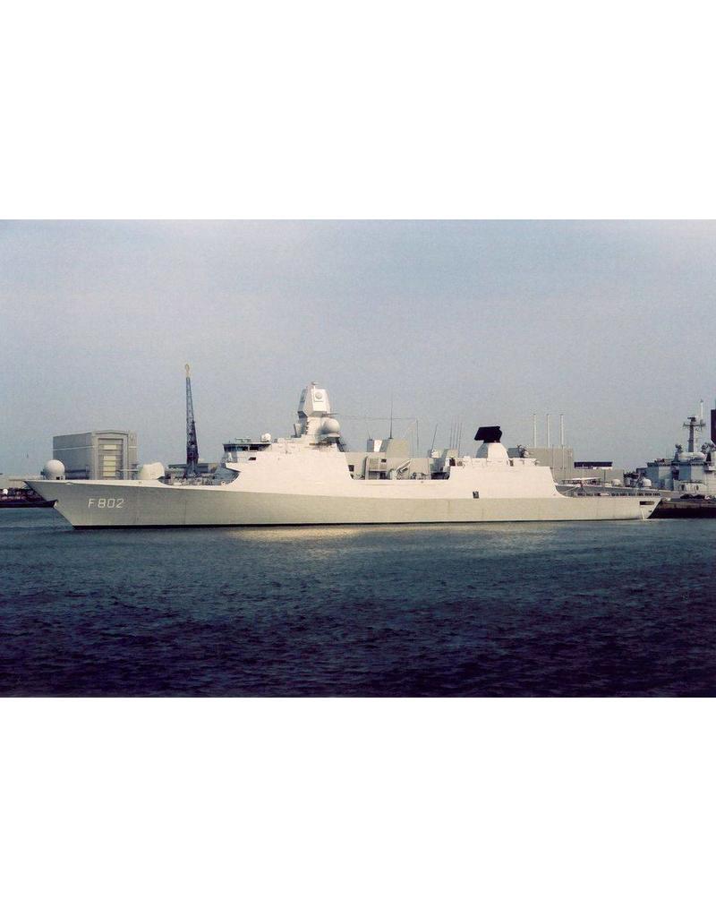 """NVM 10.11.062 HrMs Commandofregat (LCF) """"De Zeven Provincien"""" F802 (2002)"""