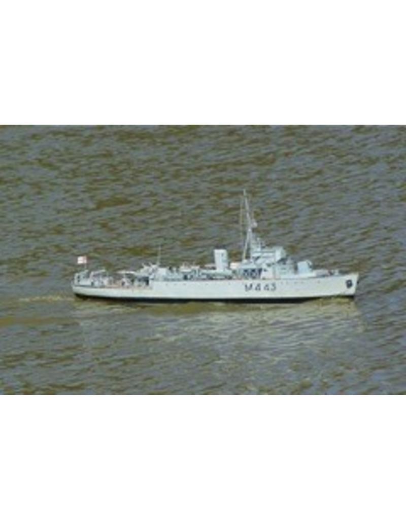 "NVM 10.11.092 Mijnenveger HMS ""Marvel"" M443 (1942/45); ""Algerine""-class mijnenvegers"