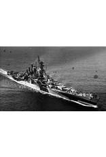 """NVM 10.11.097 Slagschip USS """"Alaska"""" CB-1 (1944)"""