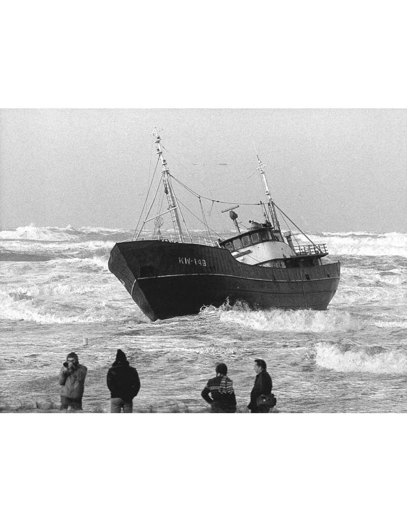 "NVM 10.13.009 motortrawler ""Arie Jacob"" KW-149 (1961) ""Bellatrix"" KW139"