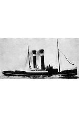 """NVM 10.14.006 zeesleper ss """"Roode Zee"""" (II) (1908) - L. Smit & Co."""