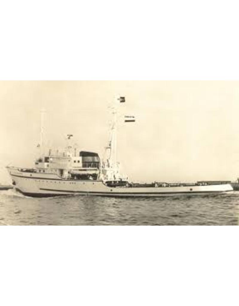 """NVM 10.14.007 zeesleper ms """"Rode Zee"""" (IV) (1949) - L. Smit & Co. Int. Sleepdienst"""
