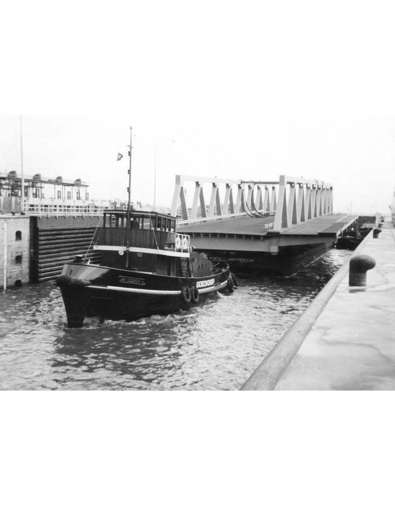 """NVM 10.14.014 havensleepboot ms """"Jan Jr. Goedkoop"""" - nr. 22 (1958) - Reederij v/h Gebr.Goedkoop"""