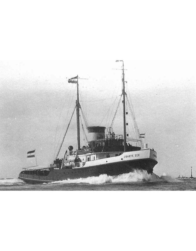 """NVM 10.14.038 zeesleper ms """"Zwarte Zee"""" (III) (1933) - L. Smit & Co's Intern. Sleepdienst"""