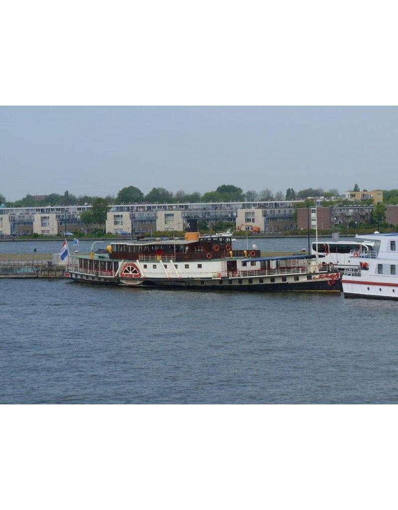 """NVM 10.15.014 passagiersraderboot ss """"Reederij op de Lek 6"""" (1911) - Stoomboot-Reederij op de Lek"""