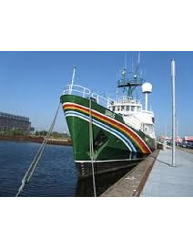 "NVM 10.18.010 ms ""Sirius"" (1981) - Greenpeace, ex-loodsboot ""Sirius"" (1950)"