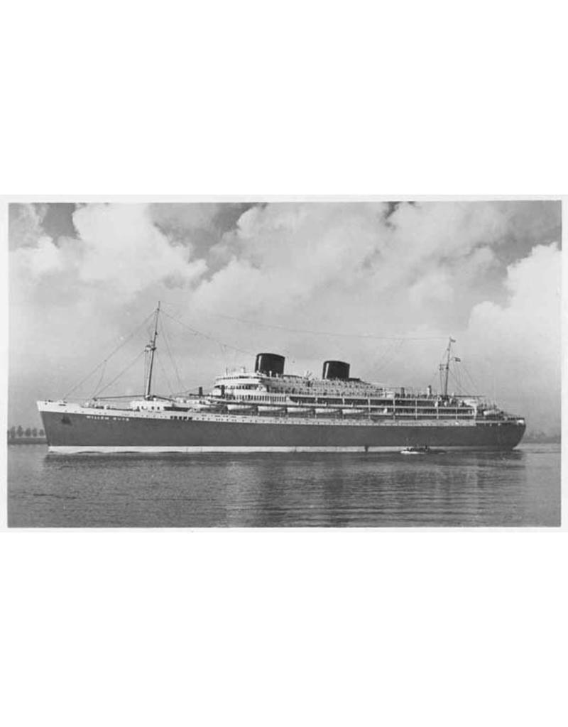 """NVM 10.20.006 passagiersschip ms """"Willem Ruys"""" (1939/1947) - Kon. Rott. Lloyd"""