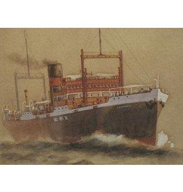 """NVM 10.20.027 vrachtschip ss """"Tjisondari"""" (1924) - KJCPL"""