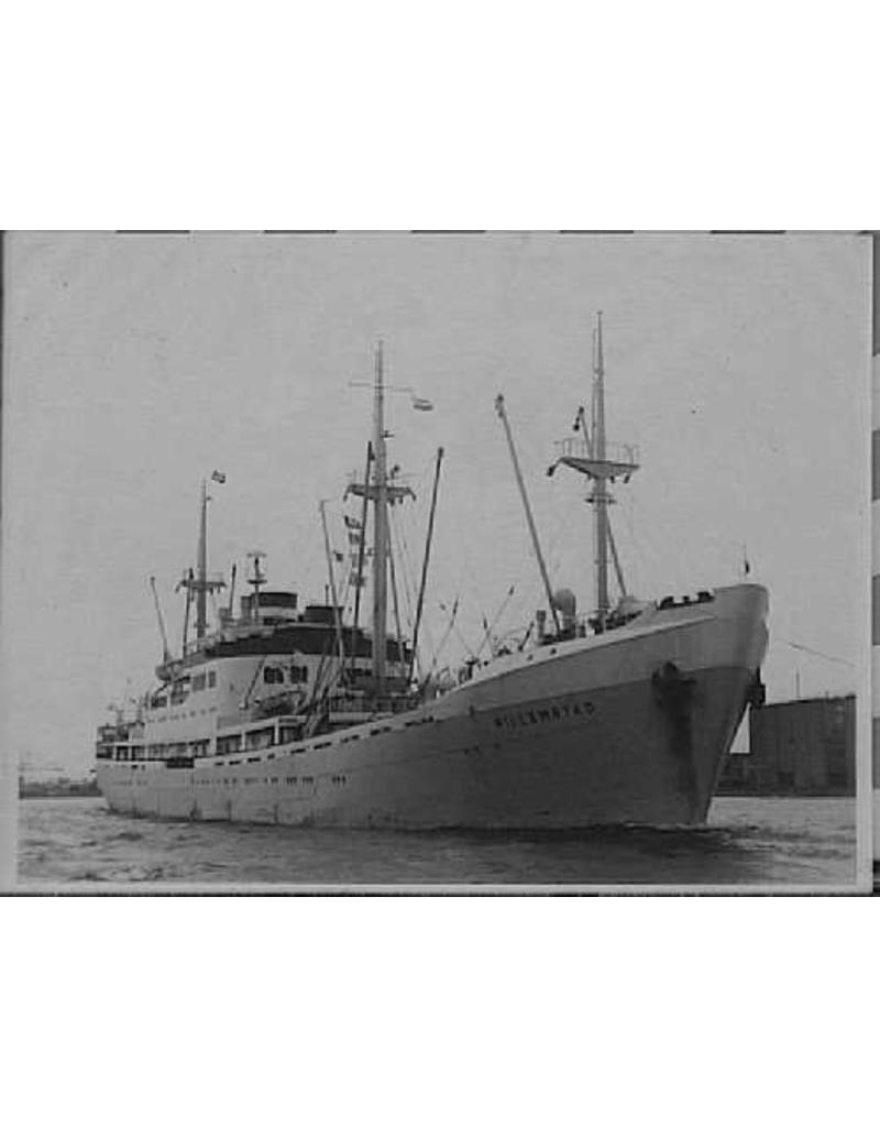 "NVM 10.20.104 vrachtpass. ms ""Willemstad""(1950) - KNSM; ex ""Socrates"" (1938)"