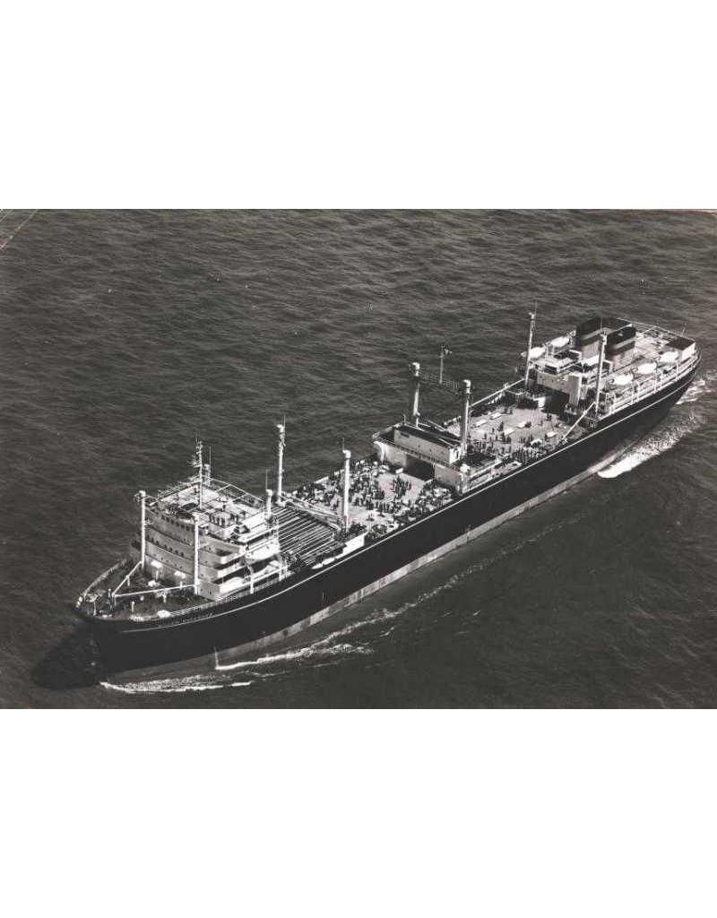 """NVM 10.20.116 Walvisfabrieksschip ms """" Willem.Barendsz II"""" (1955) - Mij. v.d. Walvisvaart"""