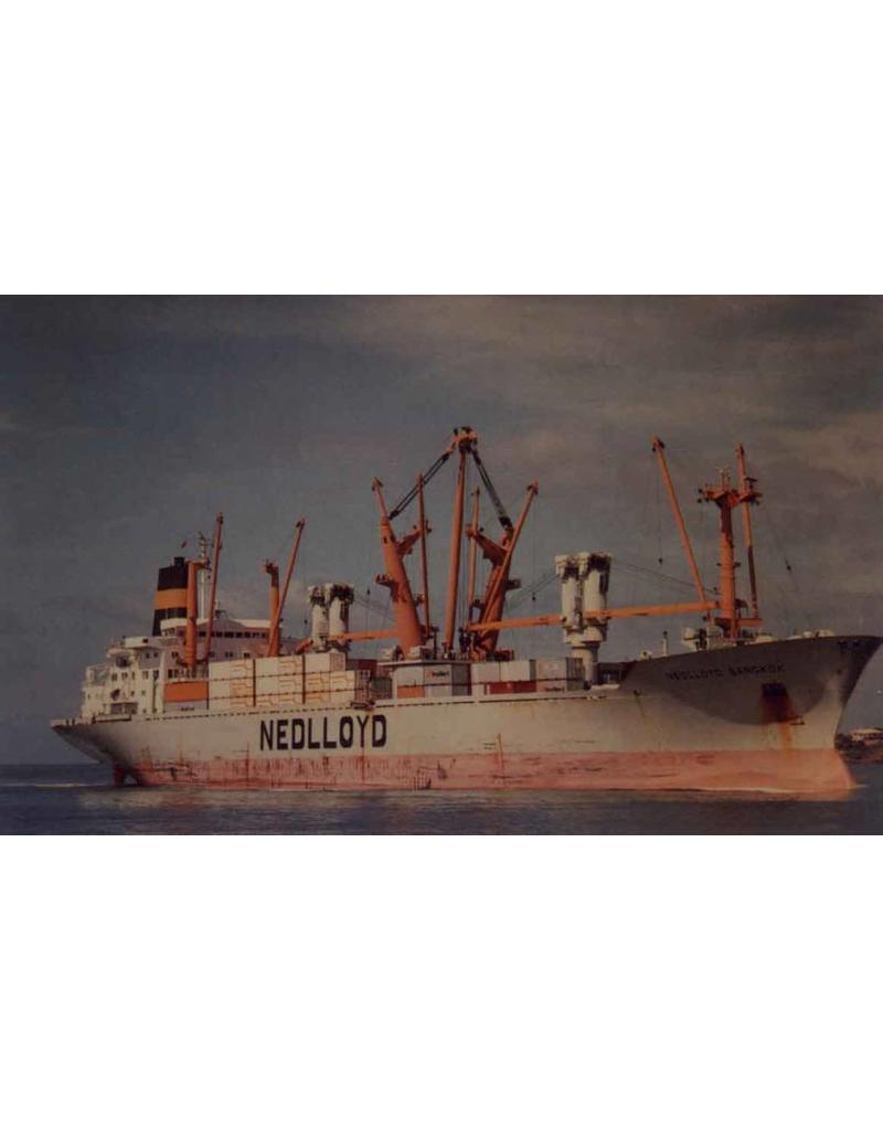 """NVM 16.10.003 ms """"Nedlloyd Bangkok"""", """"Bahrain"""", """"Barcelona"""", """"Baltimore"""" (1978/1979)- Nedlloyd"""