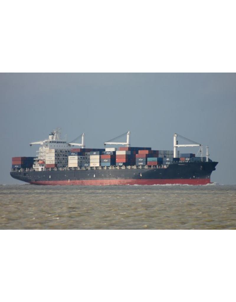"NVM 16.10.009 containerschip ss ""Nedlloyd Delft"", ""Nedlloyd Dejima"" (1973) - Kon. Nedlloyd"