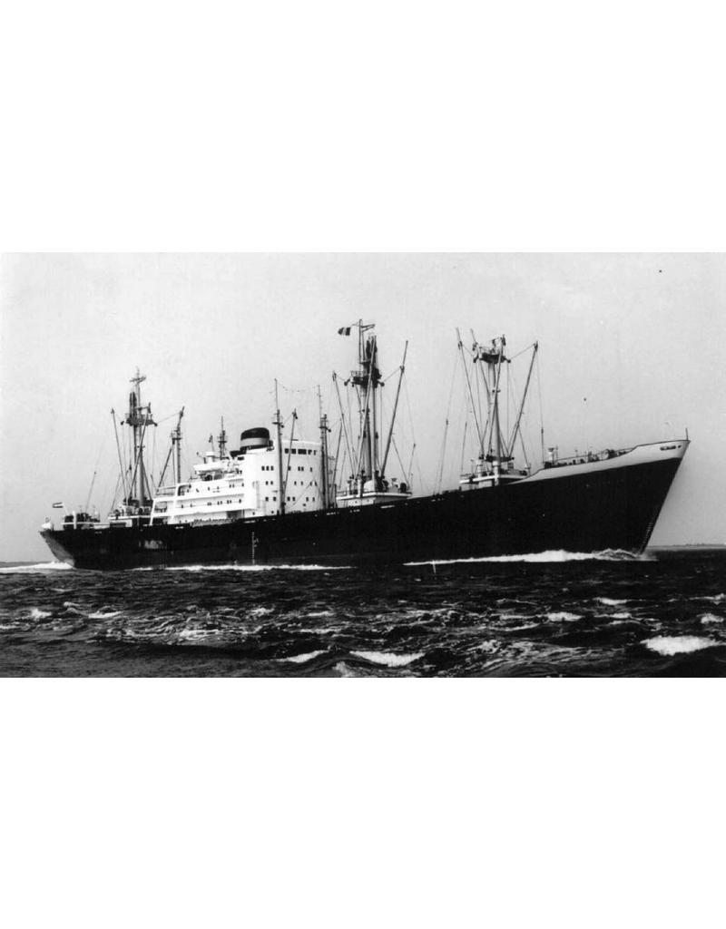 """NVM 16.10.010 vrachtschip ms """"Bovenkerk"""" (1960) - VNS - Kon. Nedlloyd"""