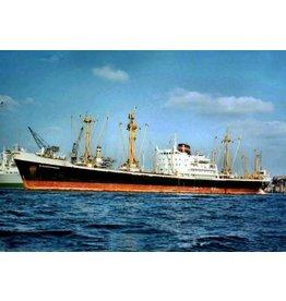 """NVM 16.10.022 vrachtschip ms """"Kloosterkerk"""", """"Koudekerk"""" (1964) - VNS/Nedlloyd"""
