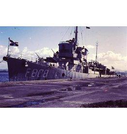 "NVM 16.11.017 fregat HrMs ""Van Ewijck"" F808 (1950) - ex USS"" Gustafson"" (1943) - Van Amstel klasse"