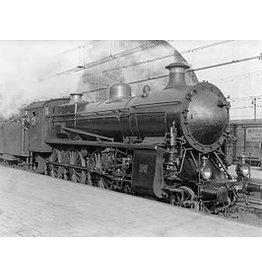 NVM 29.00.117 stoomlocomotief NS 3601 - 3604 voor spoor 0