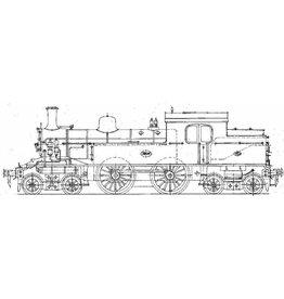NVM 29.00.603 stoomlocomotief NS 5806 - 5812