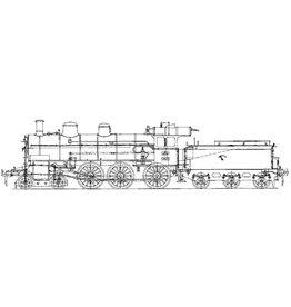 NVM 29.00.116 stoomlocomotief NS 3501 - 3522 voor spoor 0