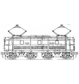 NVM 29.01.092 E-lok SNCF 0325 voor spoor 0