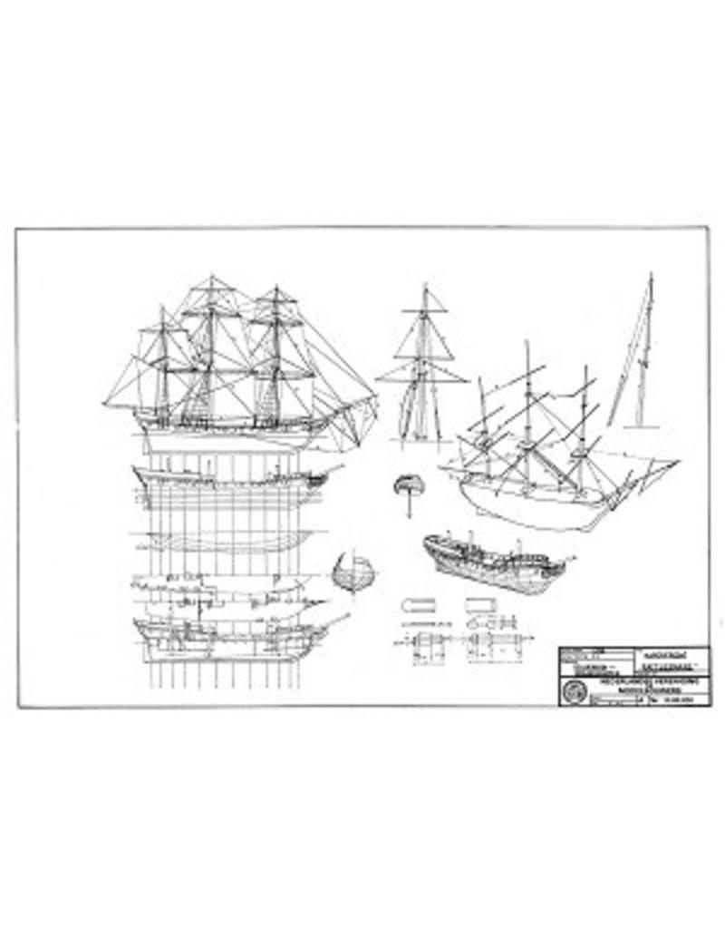 "NVM 10.00.020 Kaperfregat ""Rattlesnake"" (ca 1781)"