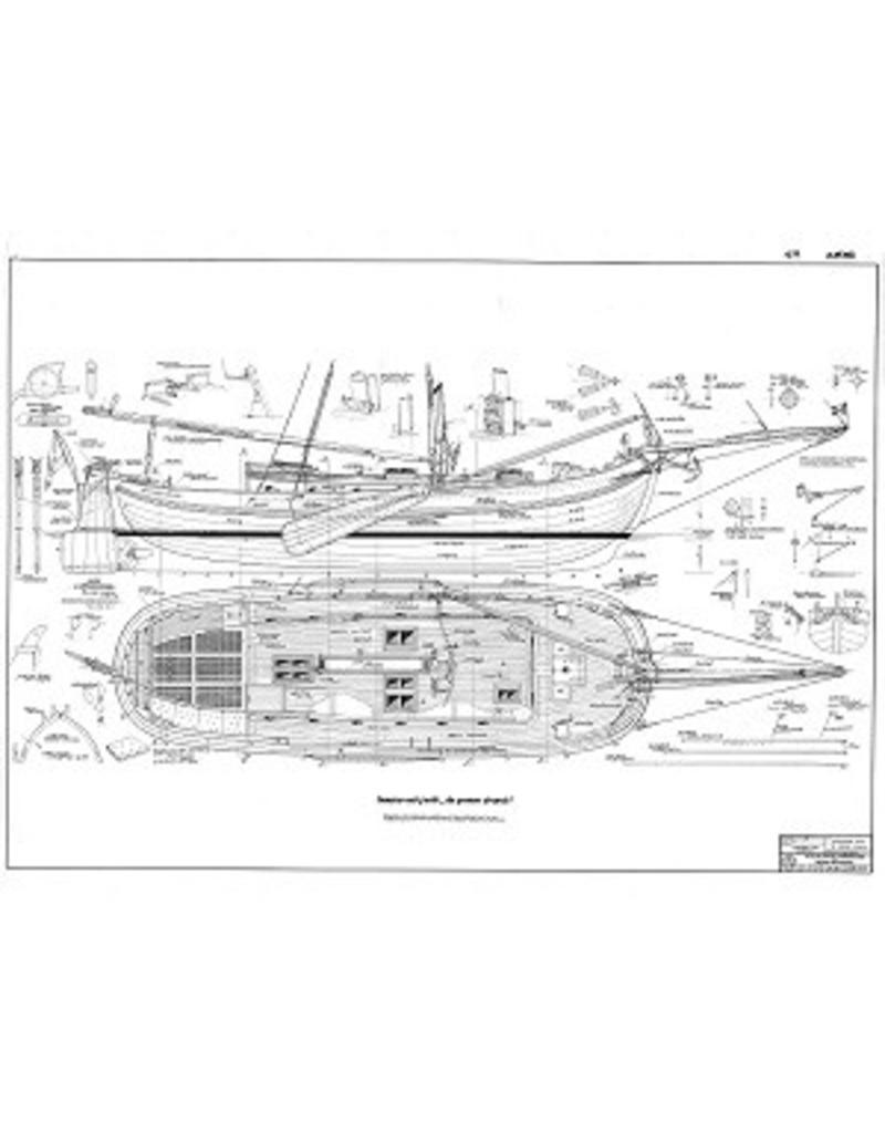 """NVM 10.06.003 lemsteraakjacht """"De Groene Draeck"""" (1957)"""