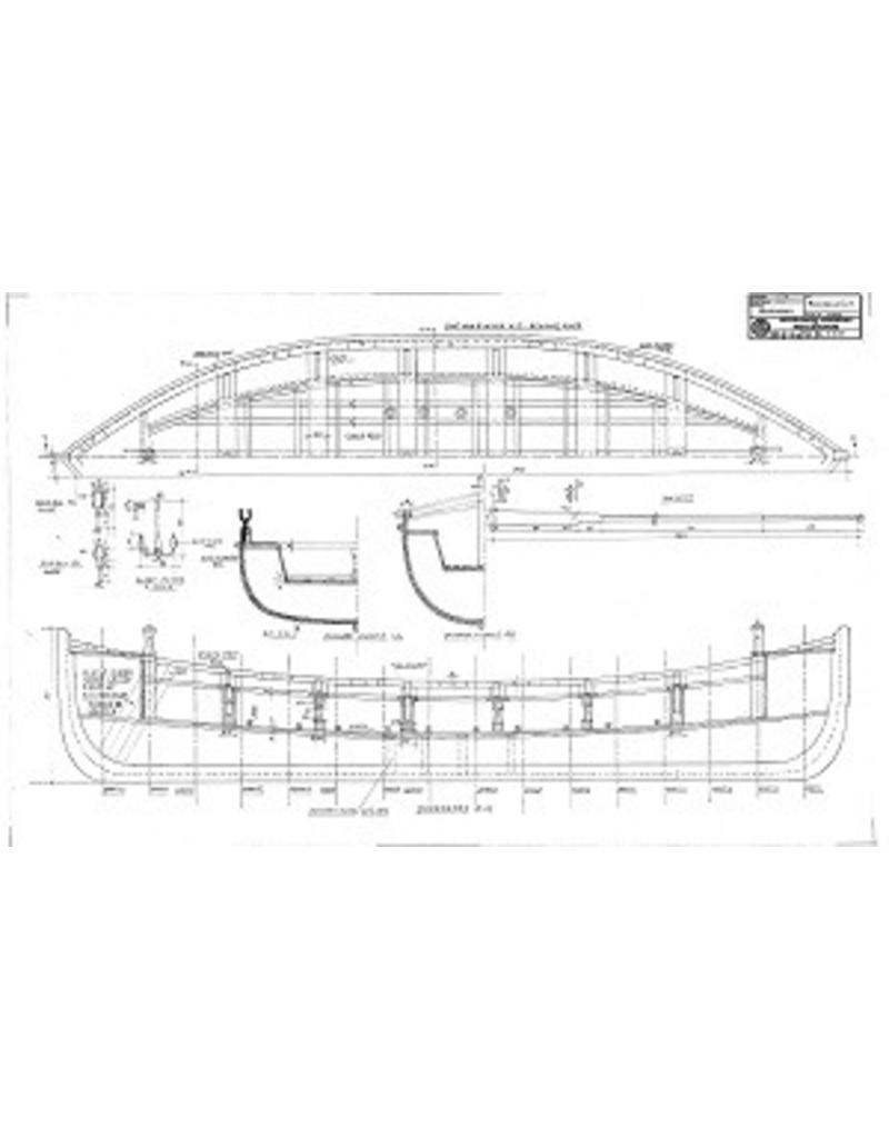 """NVM 10.07.022 NZHRM roeireddingboot """"Nr. 6"""" - Station Noordwijk"""