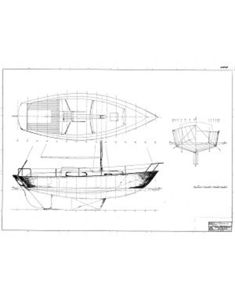 """NVM 10.08.017 zeiljacht """"Bollestâl"""" (type Seahawk)"""