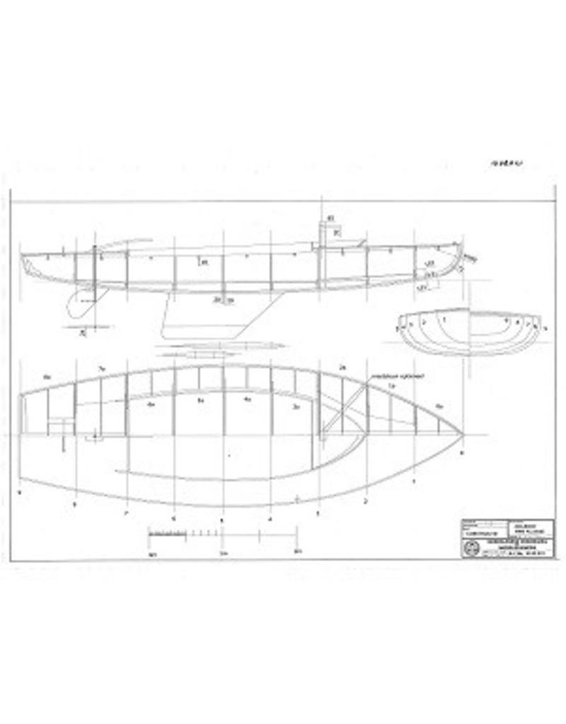NVM 10.08.021A CD-16 M2 klasse zeilboot