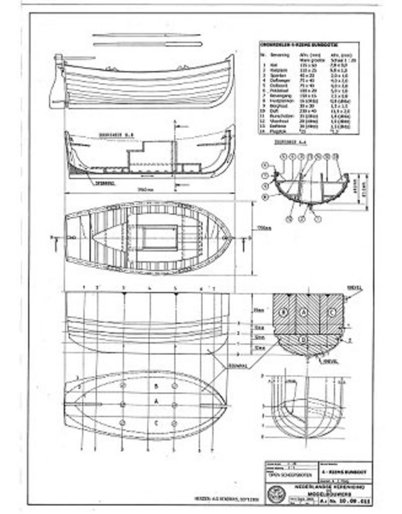 NVM 10.09.011 4-riems bunboot