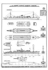 """NVM 10.10.038 passagierschip ms """"Yapeyu"""" (1951), """"Alberto Dodero"""", """"Maipu"""" - Flota Arg. De Nav. Ultramar"""