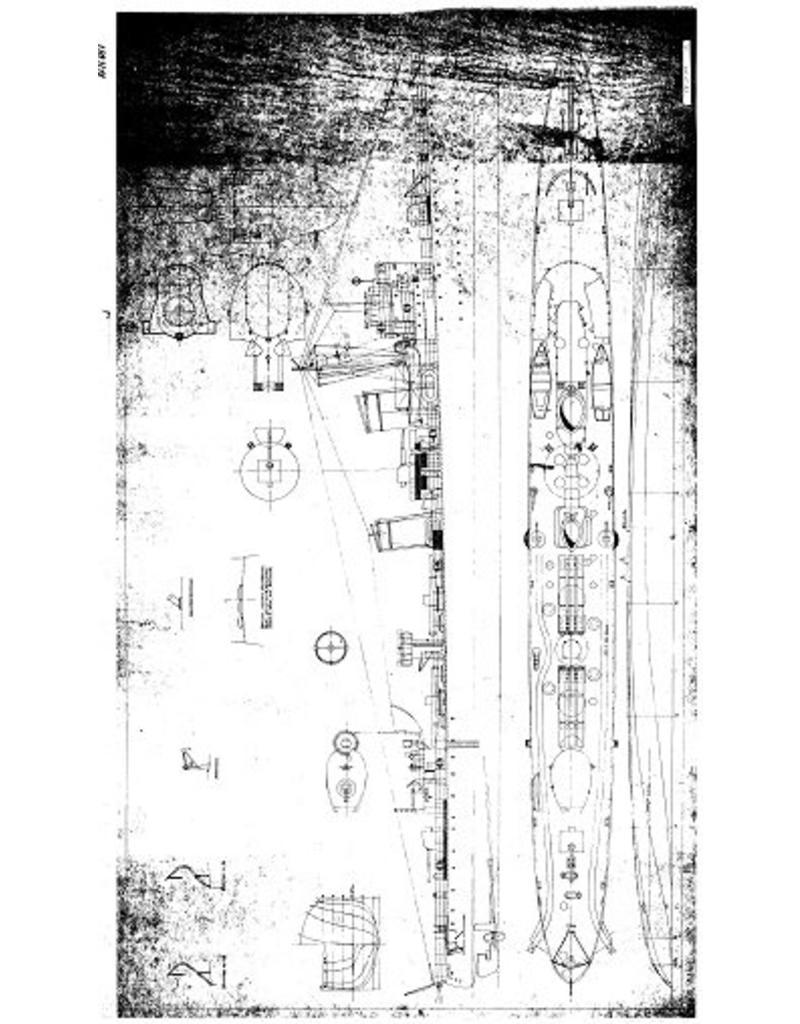 "NVM 10.11.011 Zweedse onderzeebootjager ""Stockholm"" J 06 (1937) na verbouwing (1951)"