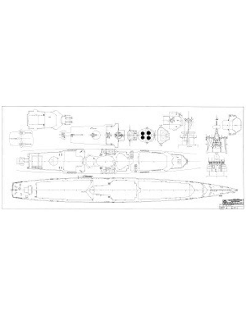 "NVM 10.11.028 HrMs luchtverdedigingsfregatten ""van Heemskerck"" F812, ""Witte de With"" F813 (1986)"