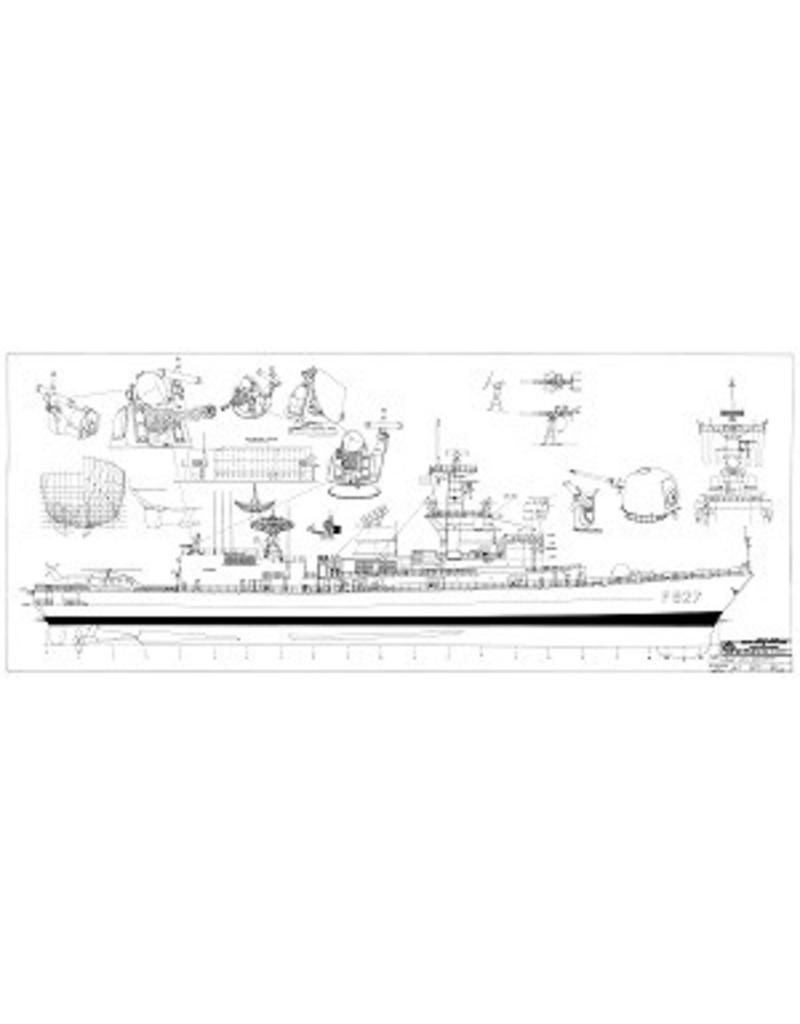 "NVM 10.11.035 HrMs M-fregatten ""Karel Doorman""-klasse (1991/95)"